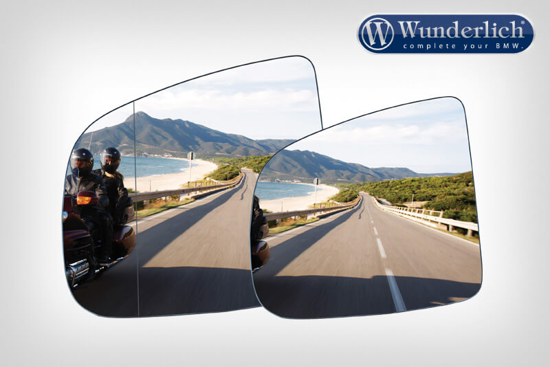 SaferView aspherical additional mirror glasses left