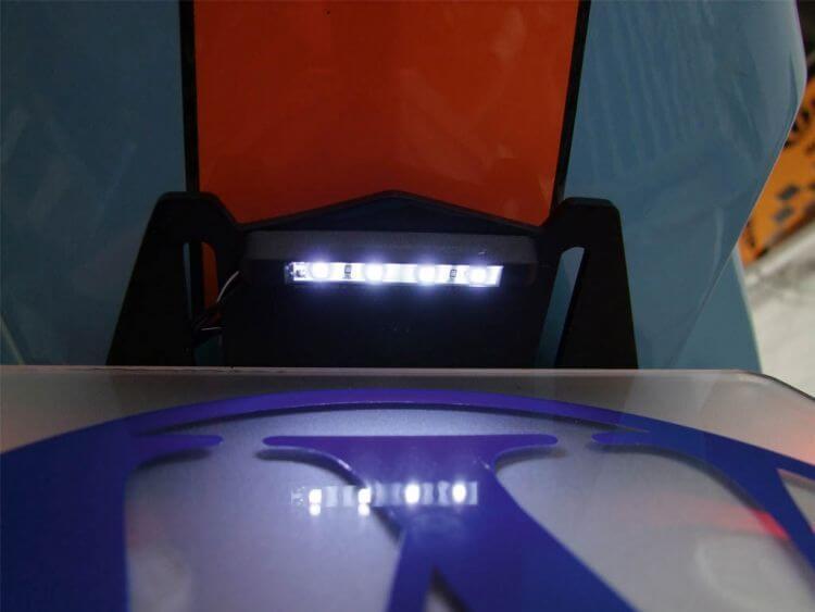 Number plate light LED FineLiner