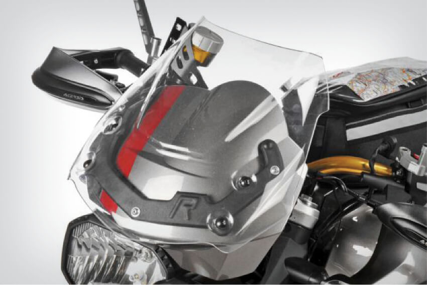 DualSport windscreen