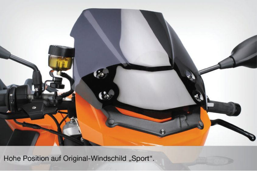 DualSport windscreen
