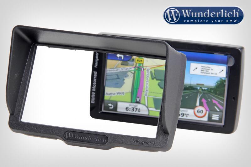 Device glare shield BMW Navigator V