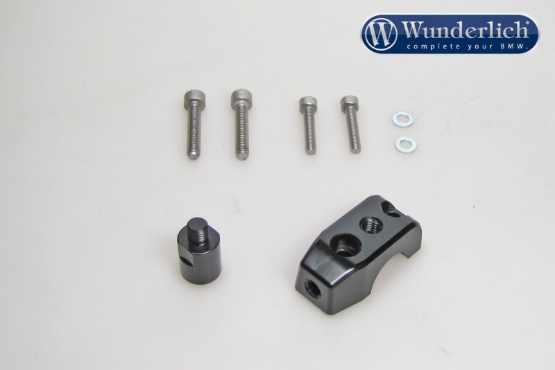 Mirror clamp for additional mirror (Set)