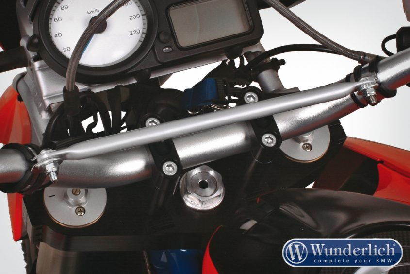 Enduro handlebar centre support