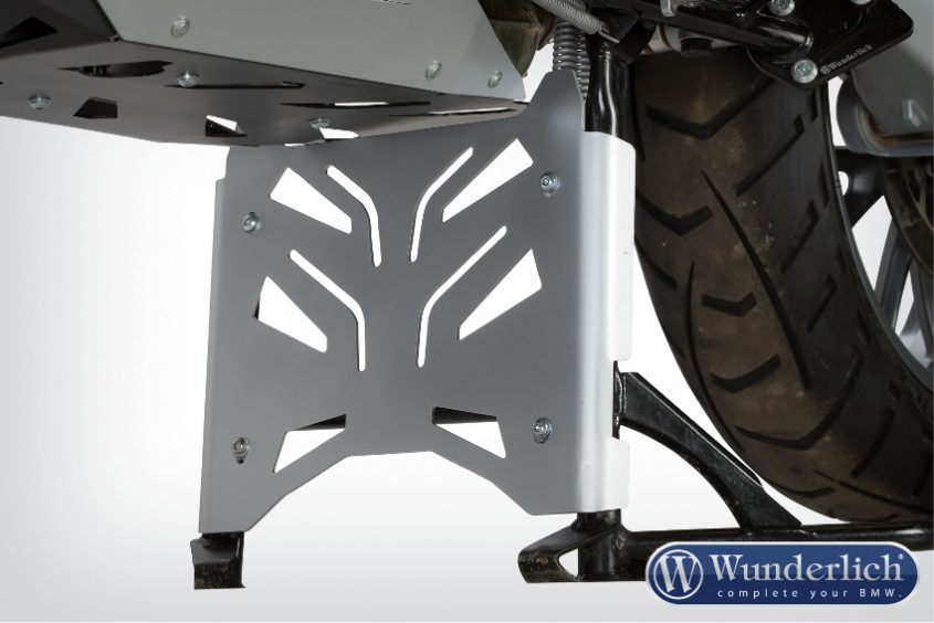Centre stand protection plate