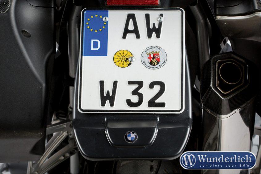 Wunderlich Extenda Fender for rear with BMW emblem