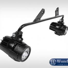 Mounting kit auxiliary lamps for Wunderlich tank protection bar