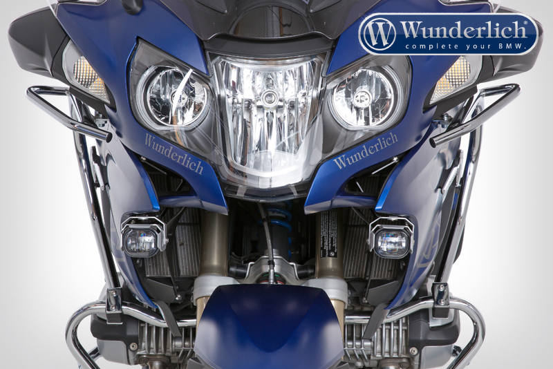 Wunderlich Micro Flooter LED auxiliary headlight - crash bar mounting