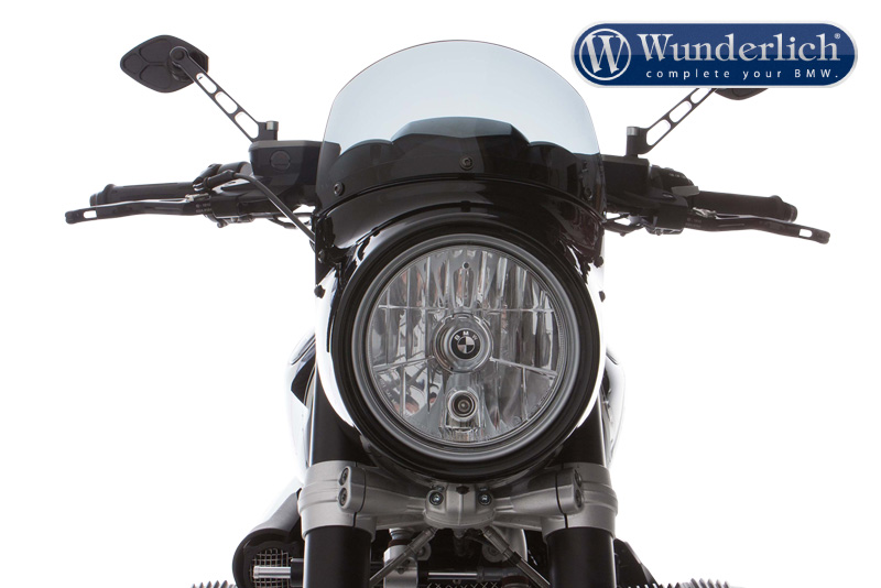 "Wunderlich ""VINTAGE"" windshield for ""VINTAGE TT"" light screen"