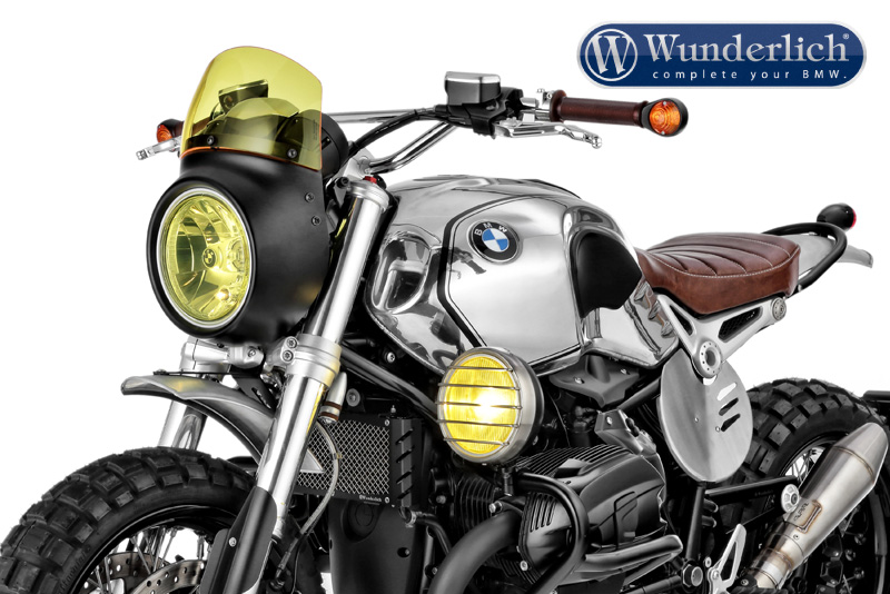 "Wunderlich """"""""""""""""VINTAGE TT"""""""""""""""" windshield for ""VINTAGE"" light screen"