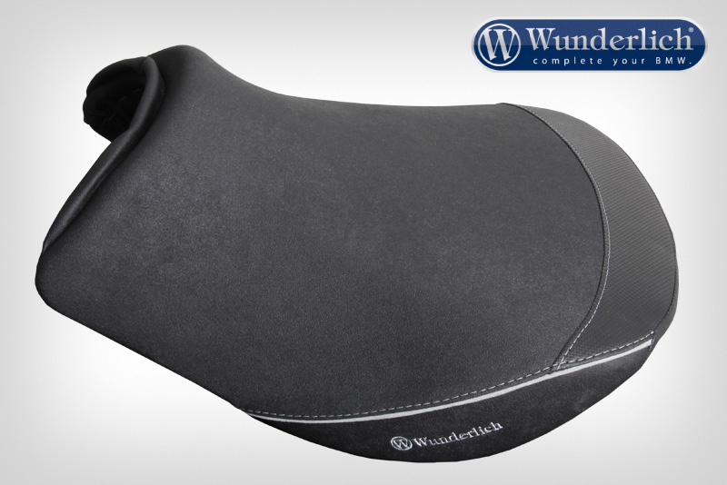 """Ergo rider r seat R 1200 RT LC regular """""""";The perfect upgrade for the seat of your RT. The original seat has an unfavourable design that puts strain on the coccyx. Additionally the width puts uncomfortable pressure on the inside of the upper thigh. This results in many riders adopting an unrelaxed posture and developing tension. We replace the structure of the original seat with our own intensively developed foam core with an overhauled contour and innovative gel insert. In the process we've kept both the original seat shell as well as the original seat heating. You can find the matching passenger seat under item number 30940-210. The facts:Unbeaten optimum seat comfort thanks to innovative gel insertThe seat height matches the series seatRetention of the original seat heatingImproved concave profile (recess in middle of seat)Relieves the coccyx and optimises weight distribution across the entire seatSweat-reducing grippy cover material combined with pin-tucks in Alcantara""""""""Refined dropped """"""""""""""""""""""""""""""""Cut"""""""""""""""""""""""""""""""" seams""""""""Taped and welded seams for 100% tightnessMade in GermanyExchange service:For this seat we've relied on the high-quality and complex standard seat shell of the RT. That's why we offer an economic exchange process:You order the seat of your choice.Along with the seat we deliver you'll also receive a return slip (DHL) for free return of your old seat within 14 days.You'll then be reimbursed €280 for your old seat.;Ergo rider r seat R 1200 RT LC regular """"""""19868"""