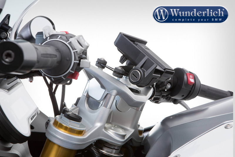 Handlebar riser for Models with BMW Navigation System