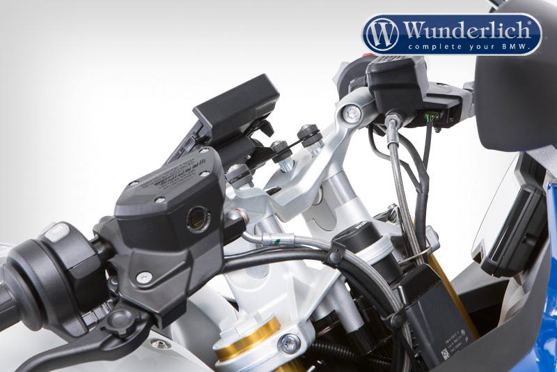 Handlebar riser for Models without BMW Navigation System