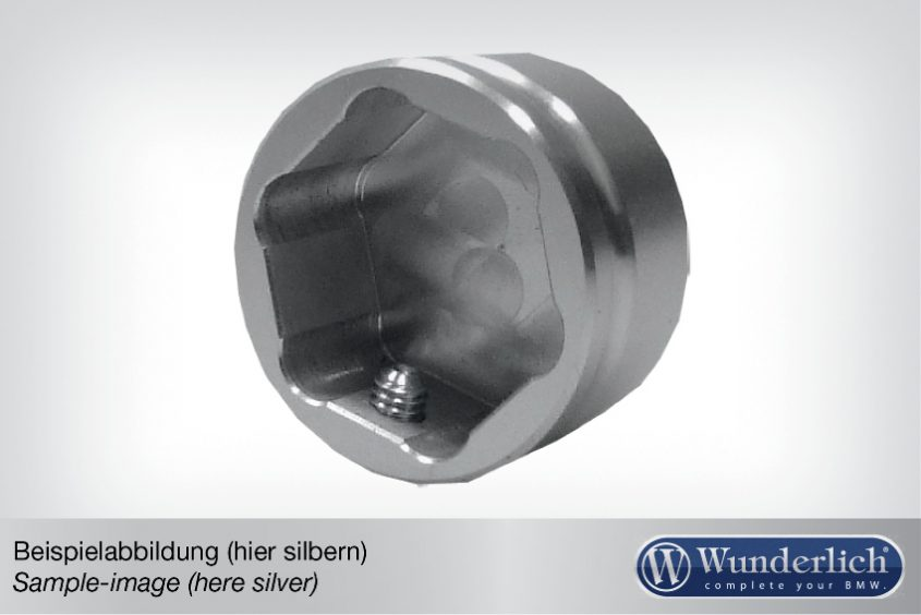 Aluminium cover for telelever joint