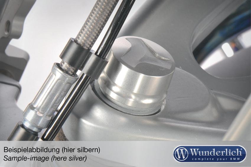 Aluminium cover for telelever joint – titanium