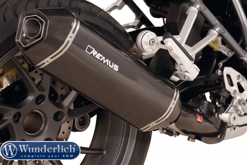 REMUS sport exhaust header system with heat protection cover