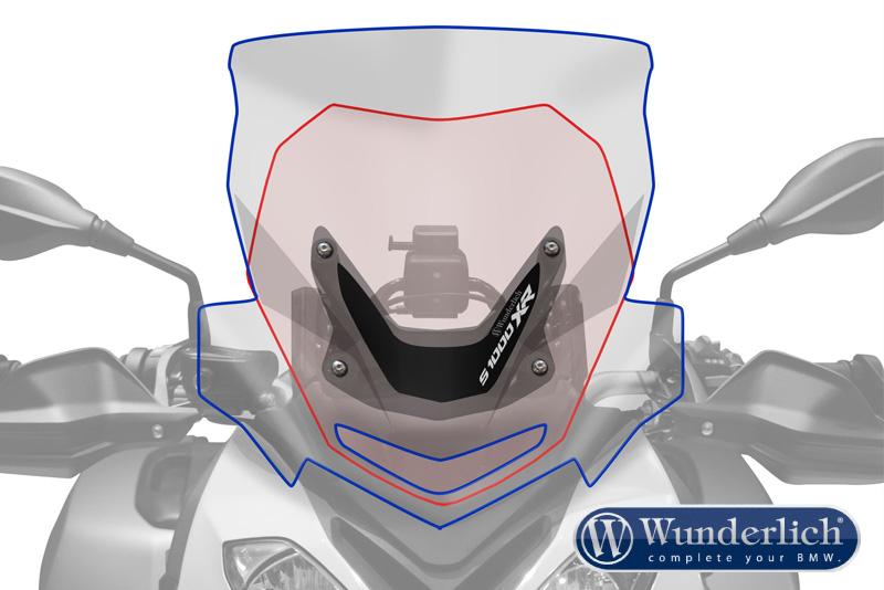 Windscreen S 1000 XR Marathon smoke