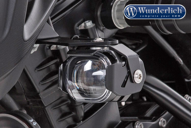"Wunderlich LED additional headlight ""MicroFlooter"" for vehicle install"