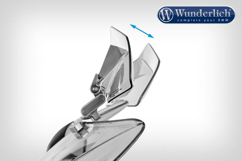 Spoiler Vario-ERGO 3D R1200RS LC silver