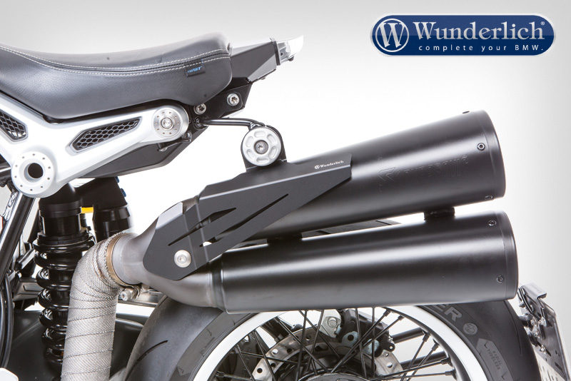 Heat protection for exhaust lift kit R nine T