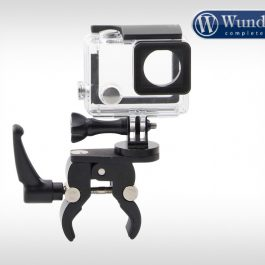 Universial camera holder for round tubes