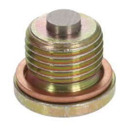 Magnetic sump plug and seal M16 x 15