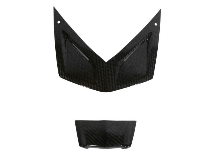 Front fairing cover set