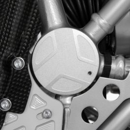 Swingarm pivot covers EDGE design