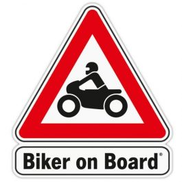 Sticker - Biker on Board