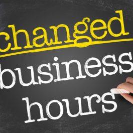 Change-of-hours