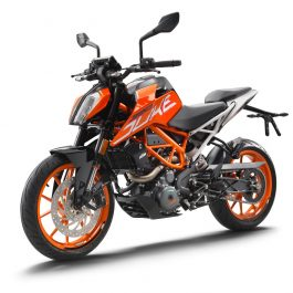 KTM 390 DUKE front left MY 2017