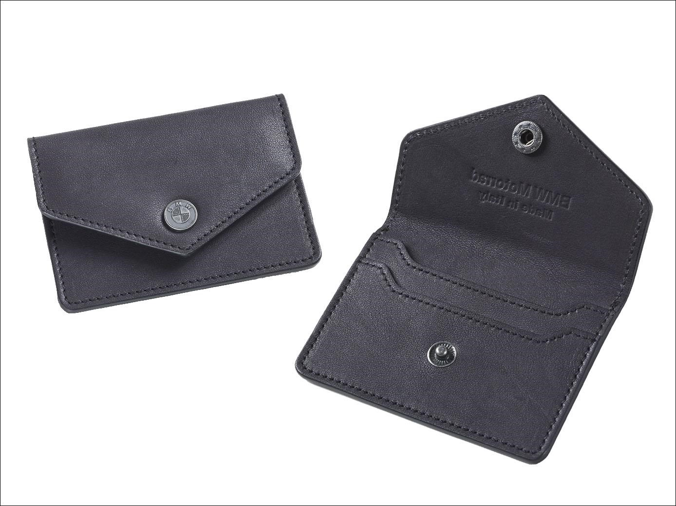 Bmw Leather Business Card Holder Procycles