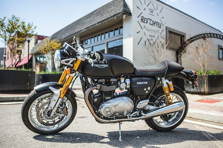 thruxton r matt